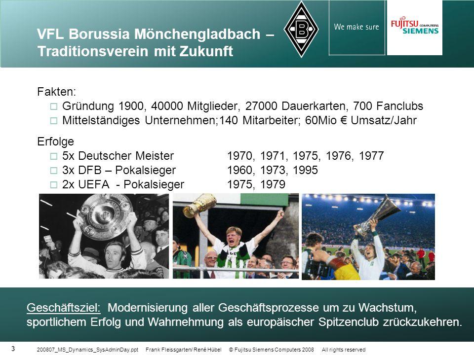VFL Borussia Mönchengladbach – Traditionsverein mit Zukunft