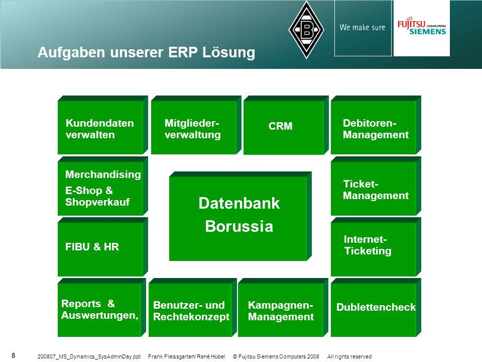Aufgaben unserer ERP Lösung
