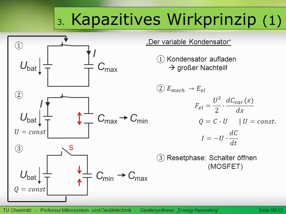 3. Kapazitives Wirkprinzip (1)