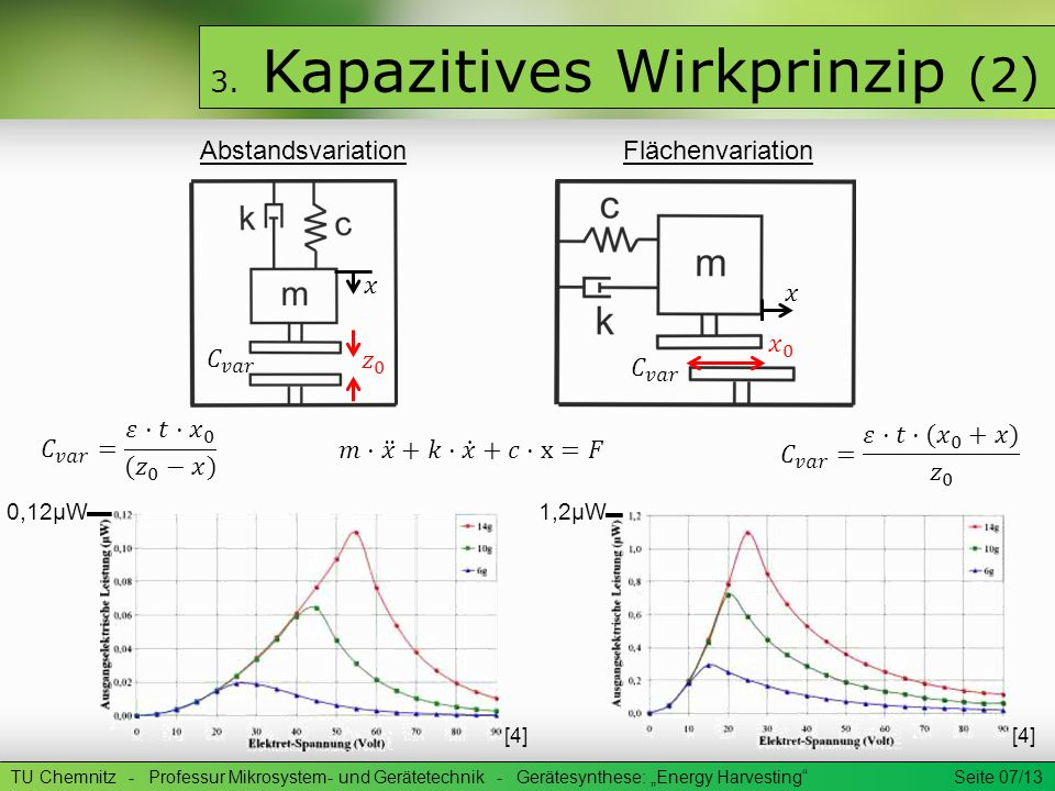 3. Kapazitives Wirkprinzip (2)
