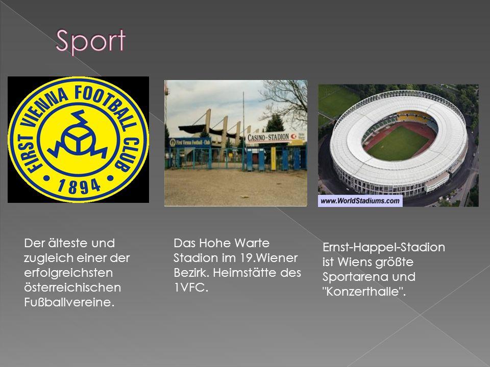 Sport Der älteste und zugleich einer der erfolgreichsten österreichischen Fußballvereine.