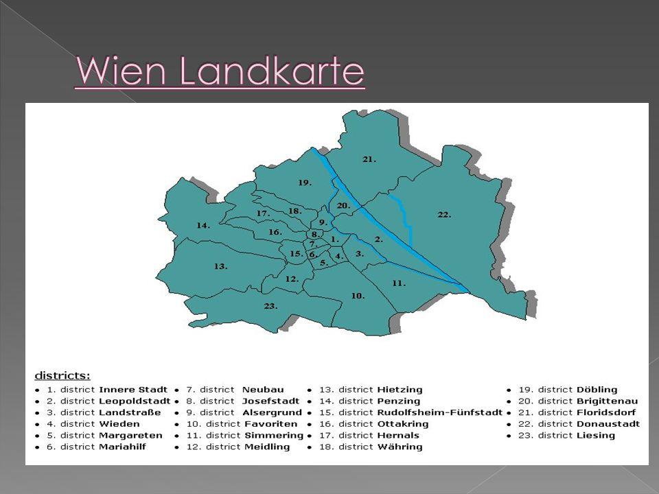 Wien Landkarte