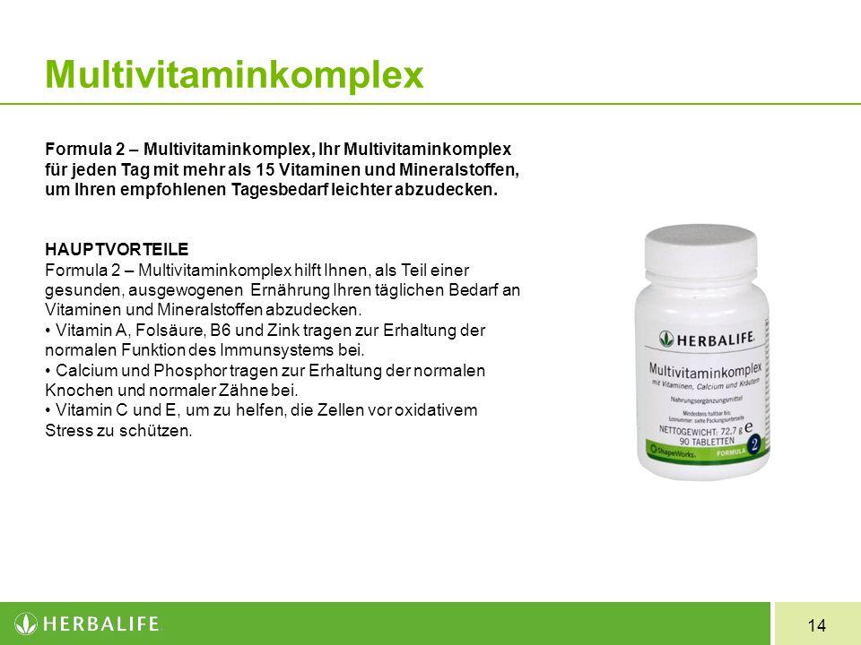 Formula 2 Multivitaminkomplex