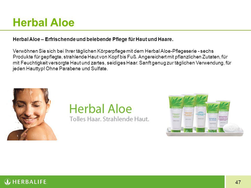 Herbal Aloe Herbal Aloe – Erfrischende und belebende Pflege für Haut und Haare.