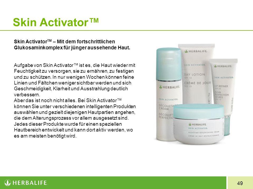 Skin Activator™ Skin ActivatorTM – Mit dem fortschrittlichen Glukosaminkomplex für jünger aussehende Haut.