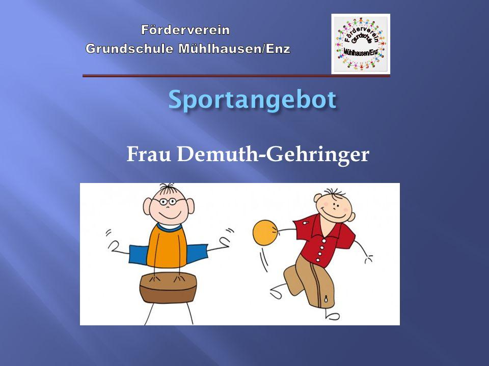 Frau Demuth-Gehringer