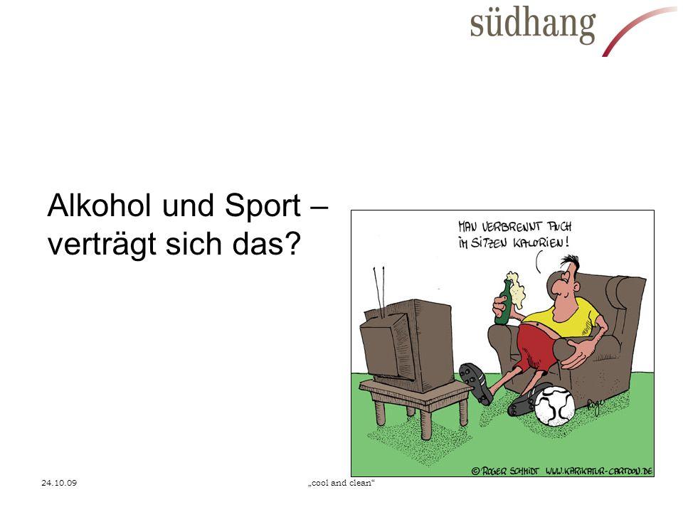 Alkohol und Sport – verträgt sich das
