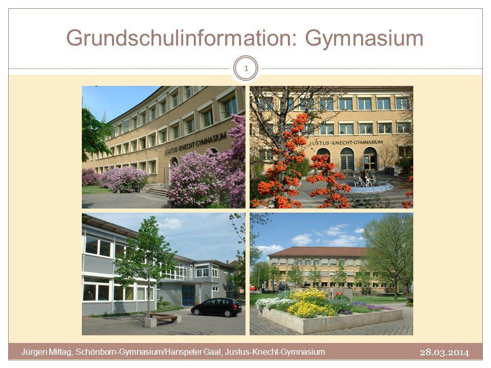 Grundschulinformation: Gymnasium