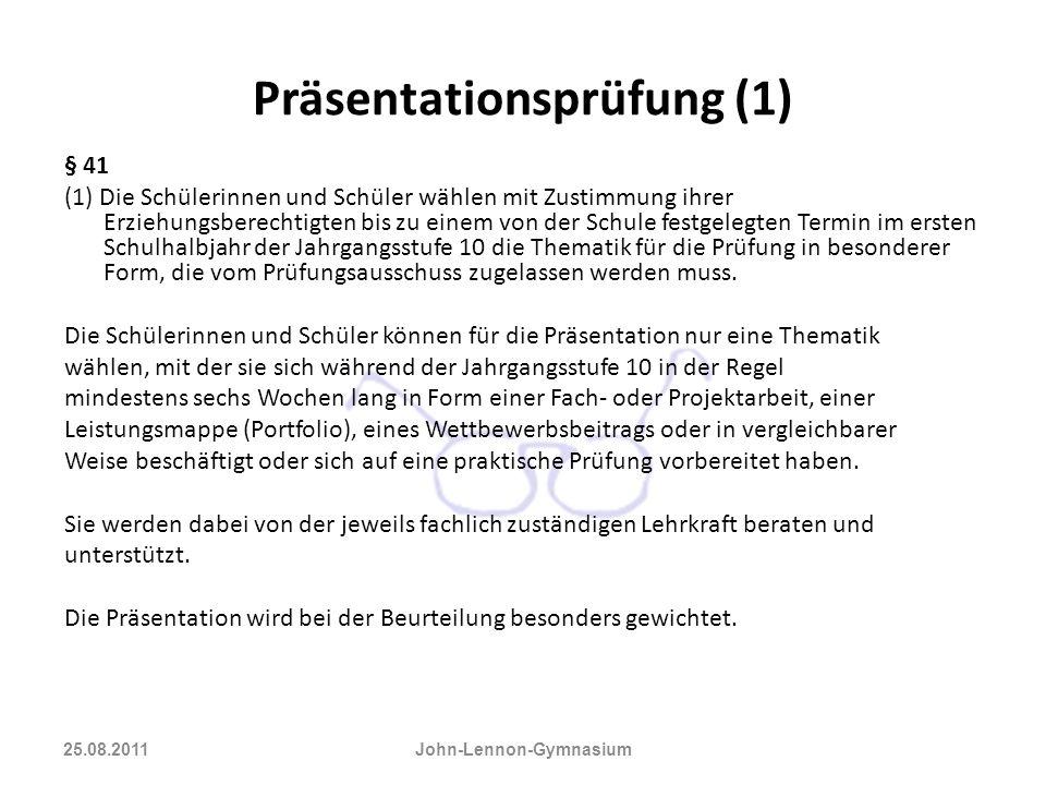 Präsentationsprüfung (1)