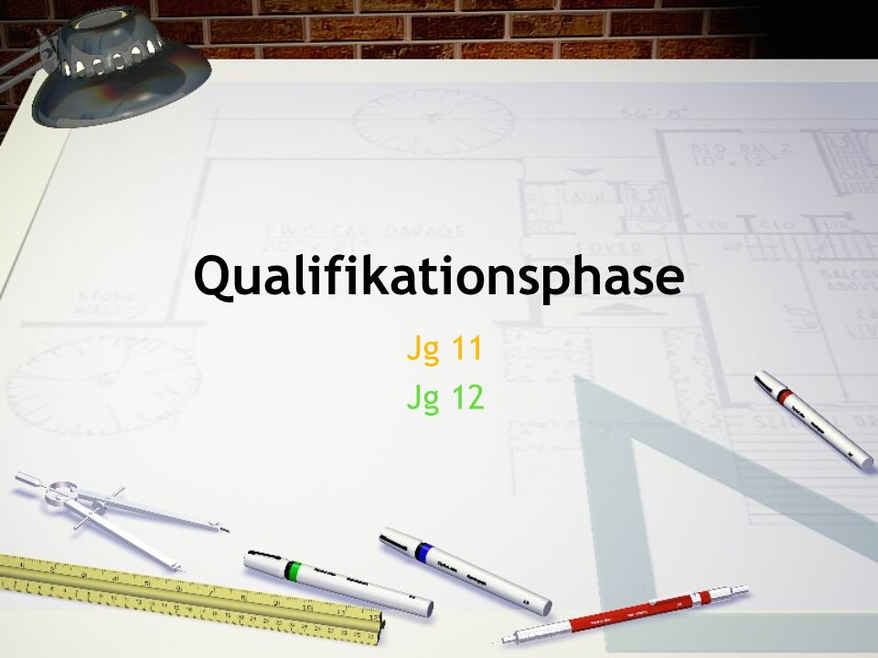 Qualifikationsphase Jg 11 Jg 12