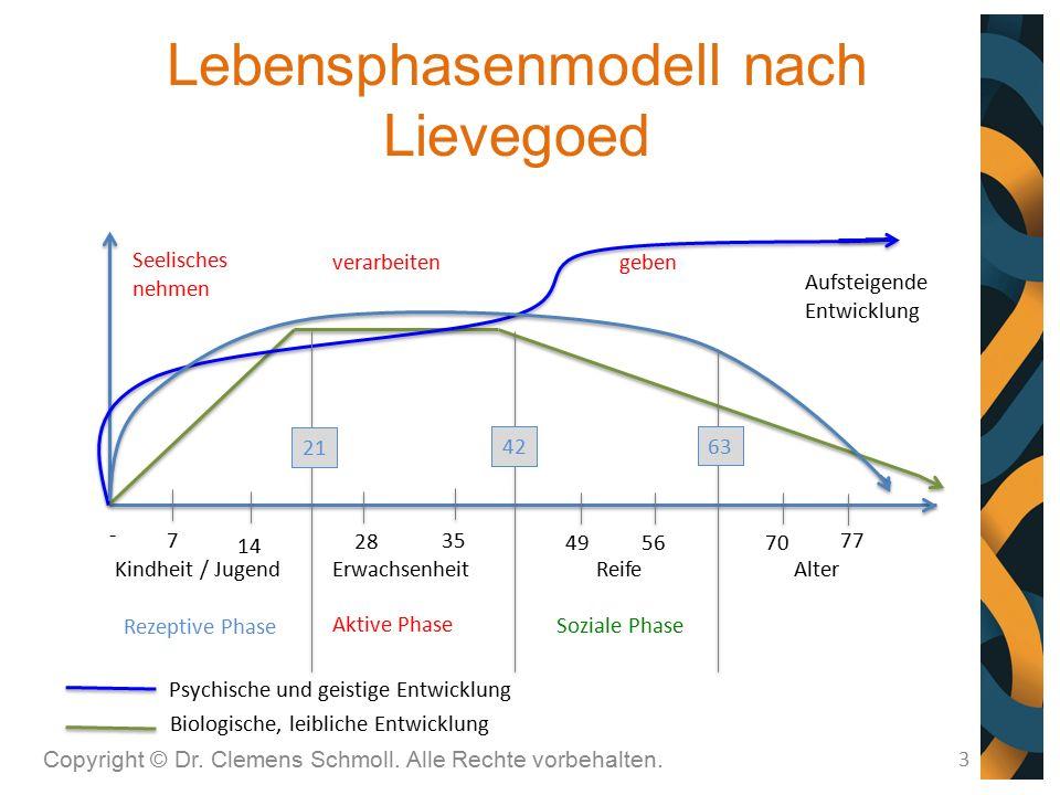 Lebensphasenmodell nach Lievegoed
