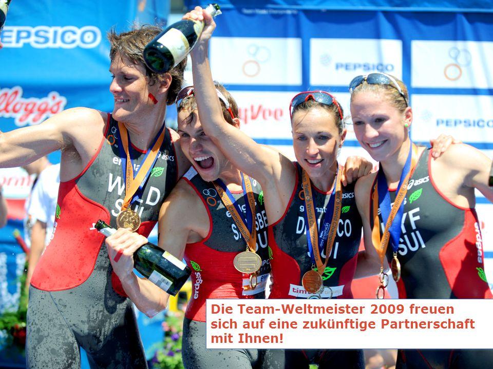 Die Team-Weltmeister 2009 freuen sich auf eine zukünftige Partnerschaft mit Ihnen!