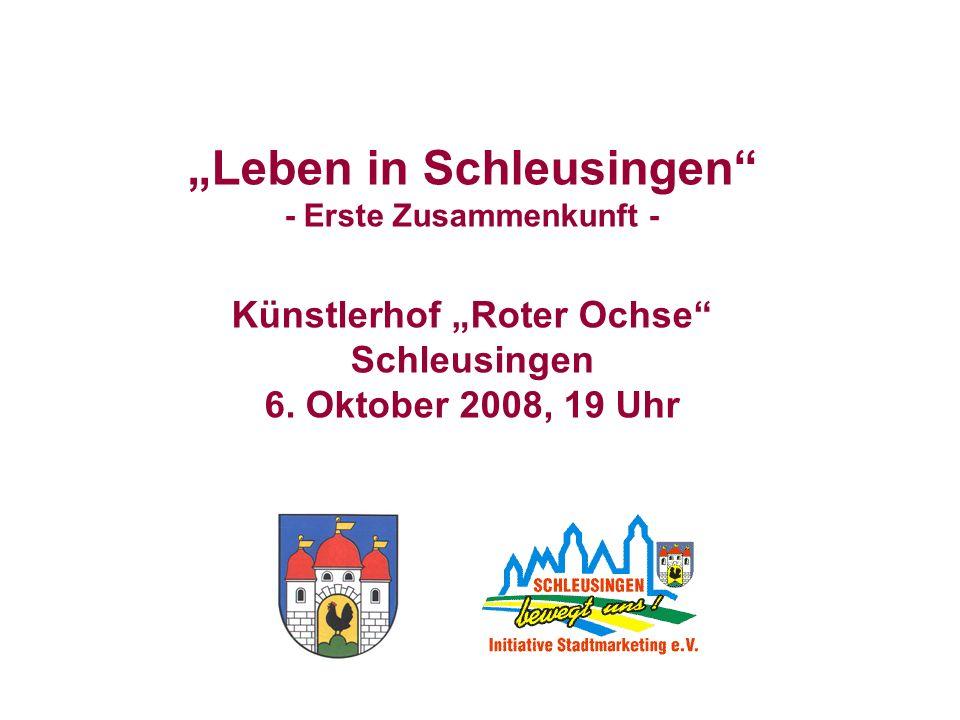 """""""Leben in Schleusingen"""