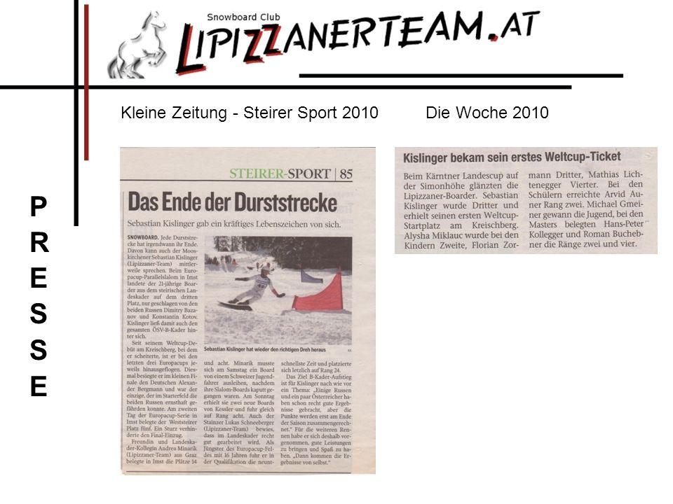 Kleine Zeitung - Steirer Sport 2010