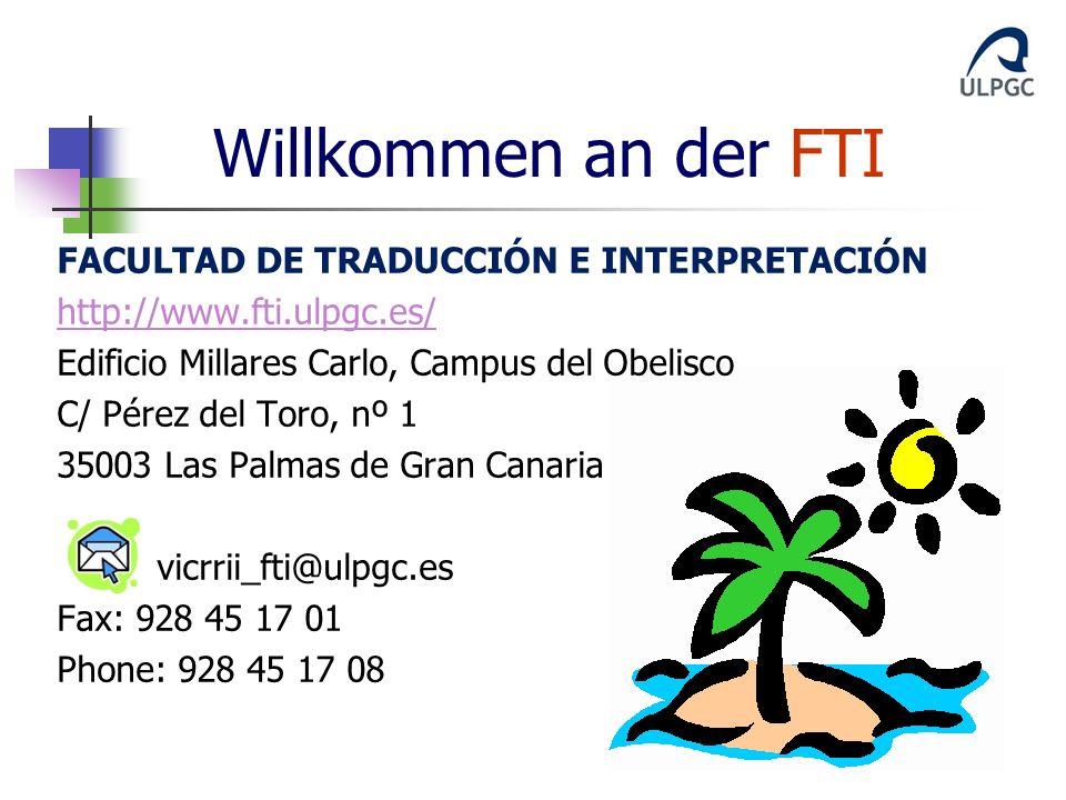 Willkommen an der FTI