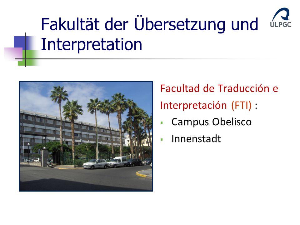 Fakultät der Übersetzung und Interpretation