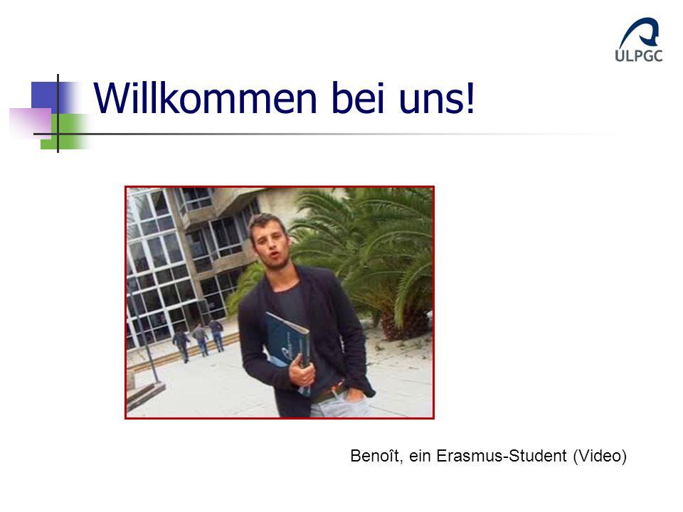 Willkommen bei uns! Benoît, ein Erasmus-Student (Video)