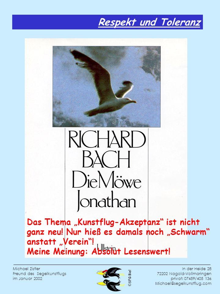 """Respekt und Toleranz Das Thema """"Kunstflug-Akzeptanz ist nicht ganz neu! Nur hieß es damals noch """"Schwarm"""