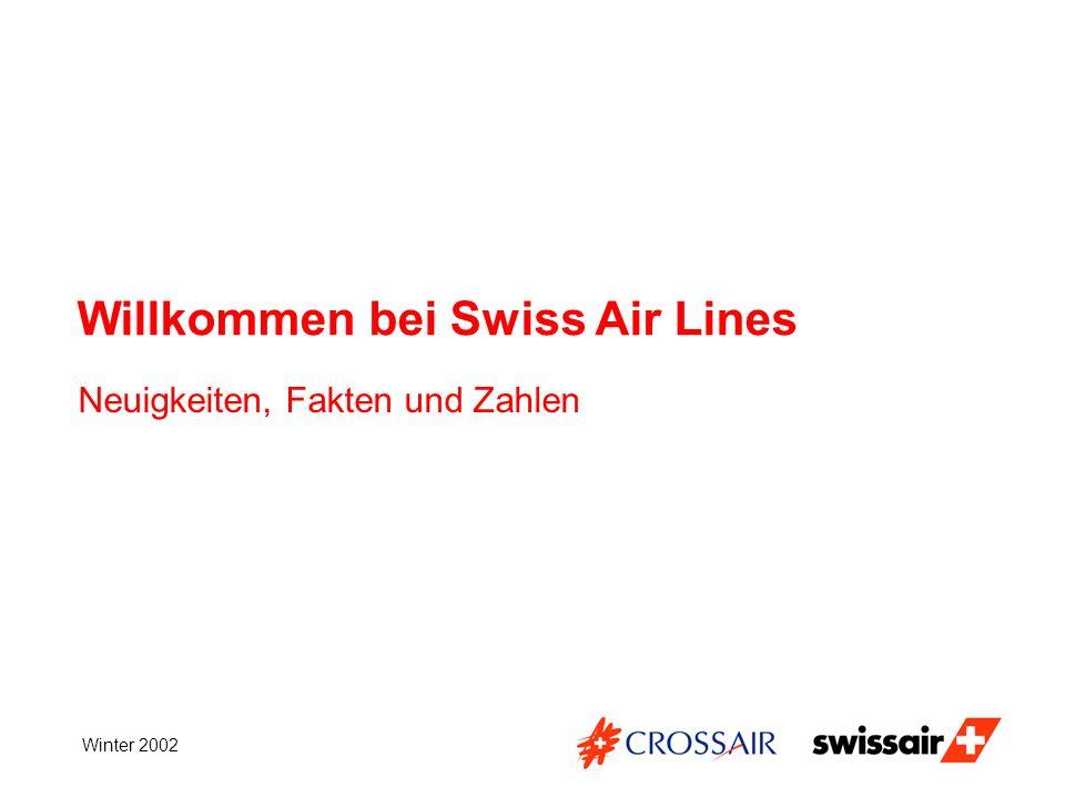 Willkommen bei Swiss Air Lines