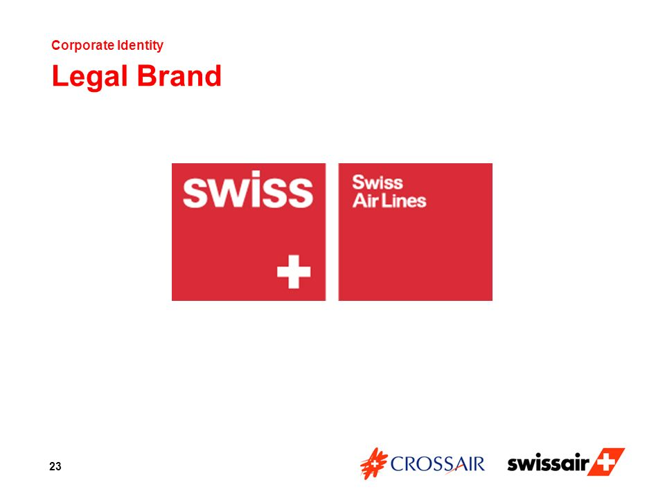 Corporate Identity Legal Brand