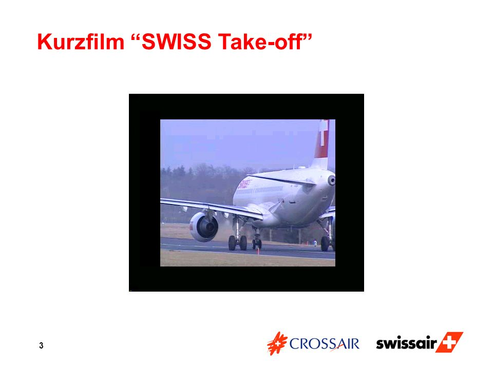 Kurzfilm SWISS Take-off
