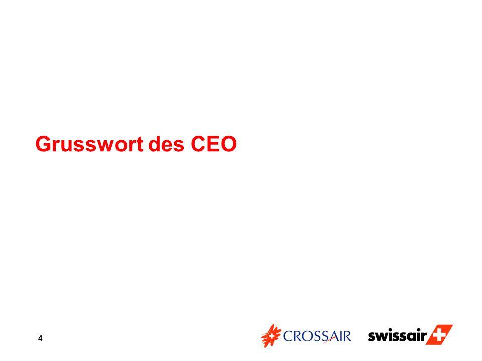 Grusswort des CEO