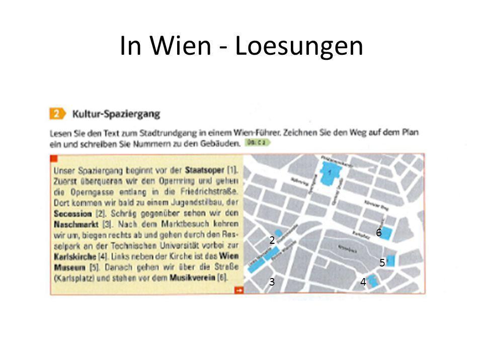 In Wien - Loesungen 6 2 5 3 4