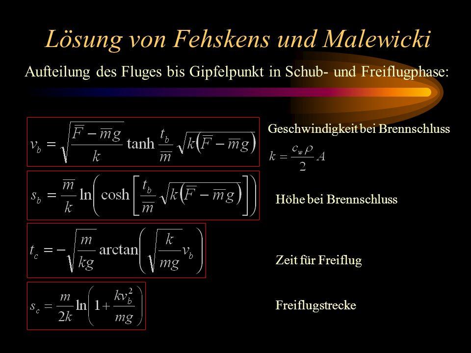 Lösung von Fehskens und Malewicki