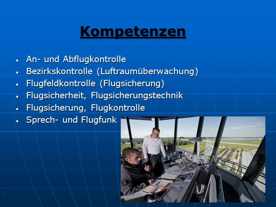 Kompetenzen An- und Abflugkontrolle