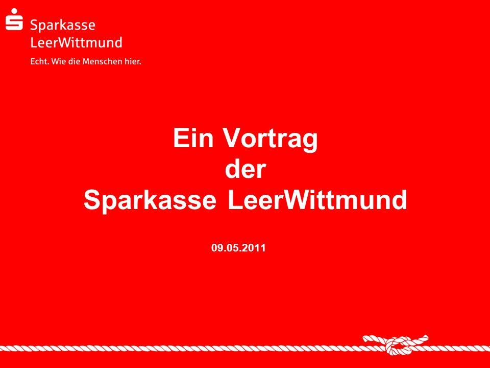 Ein Vortrag der Sparkasse LeerWittmund
