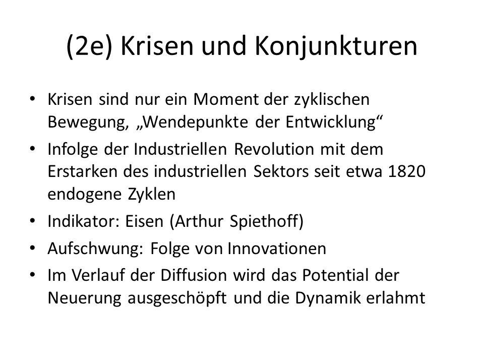 (2e) Krisen und Konjunkturen
