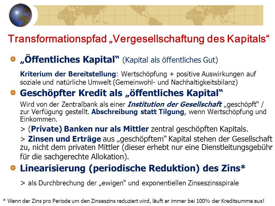 """Transformationspfad """"Vergesellschaftung des Kapitals"""