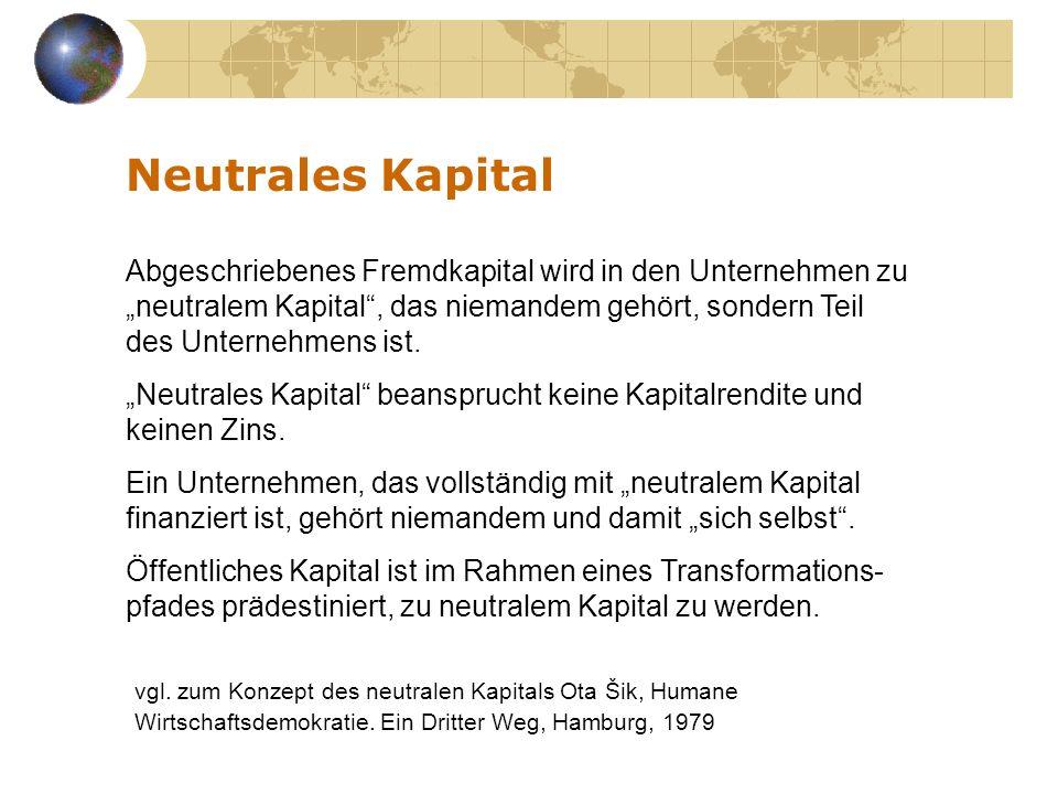 Neutrales Kapital