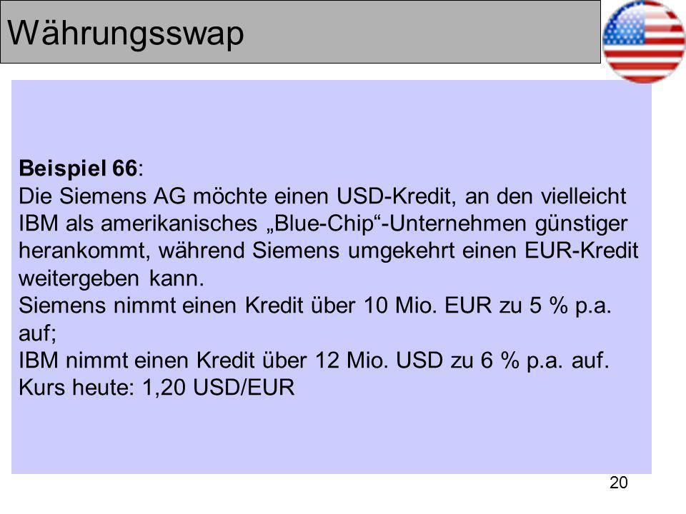 Währungsswap