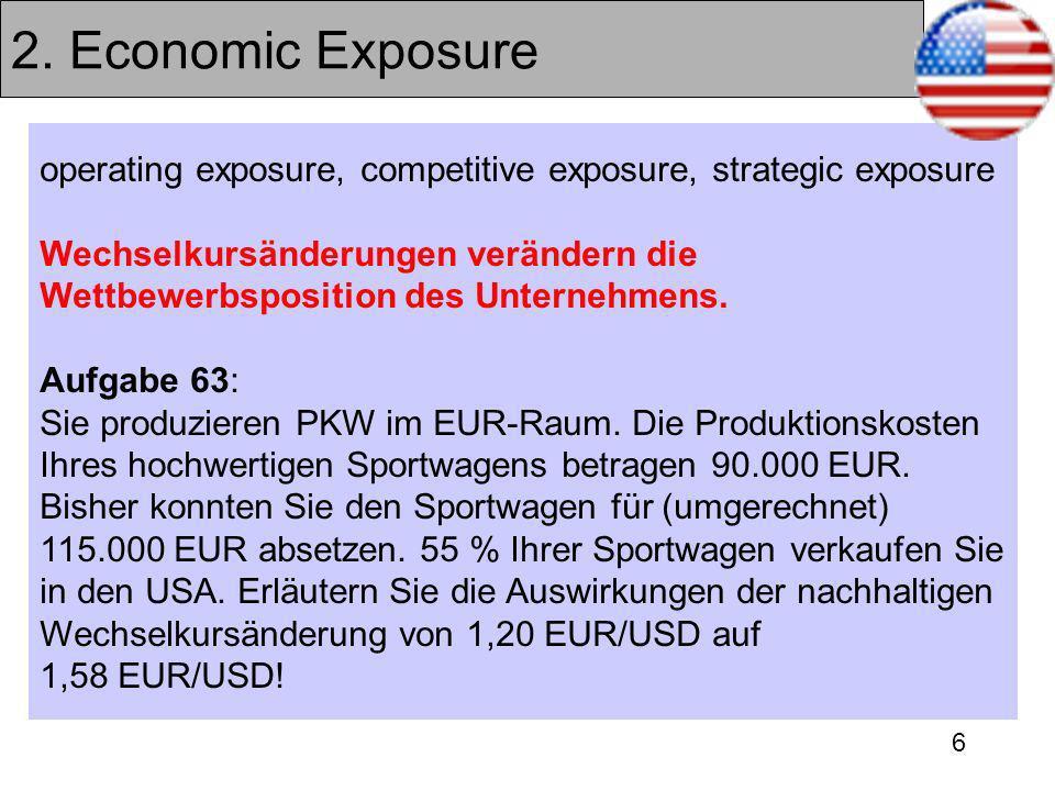 2. Economic Exposure