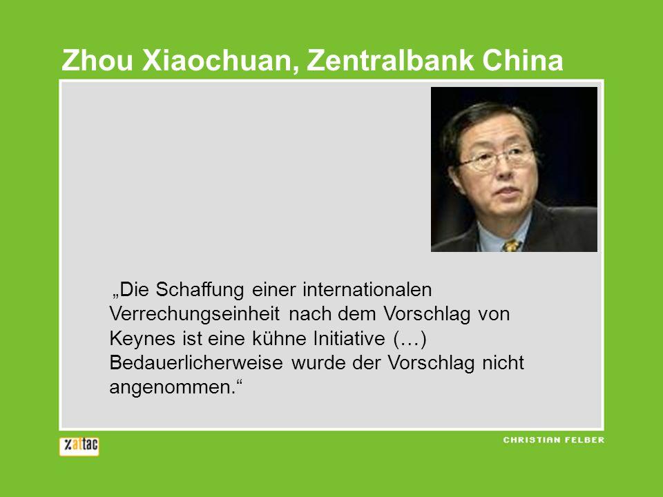Zhou Xiaochuan, Zentralbank China