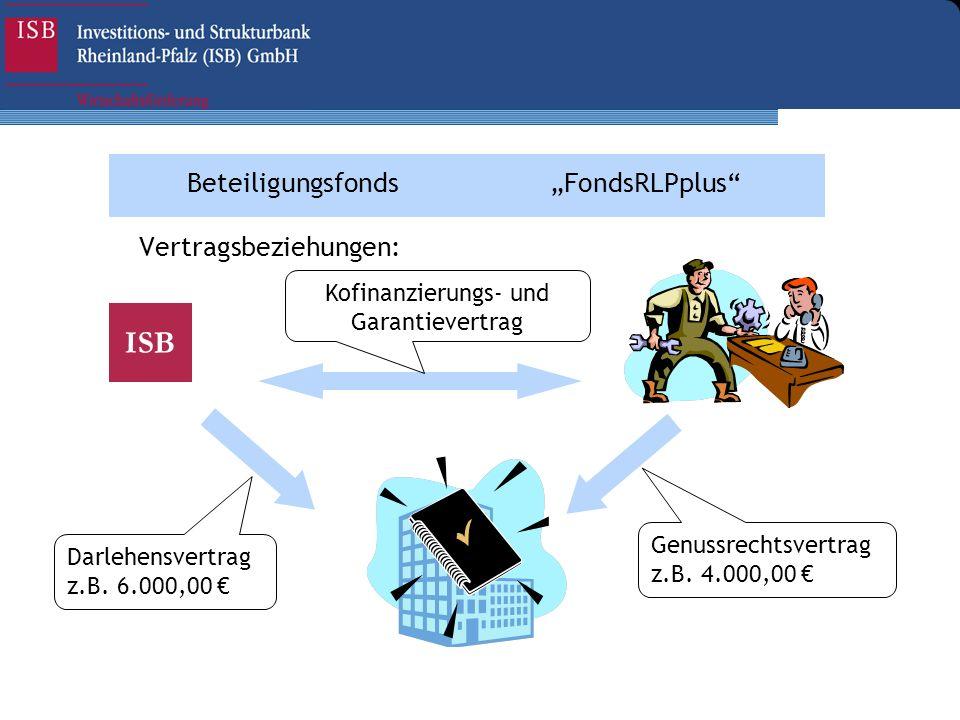 Kofinanzierungs- und Garantievertrag