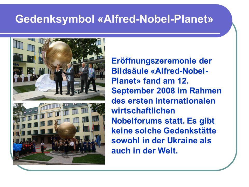 Gedenksymbol «Alfred-Nobel-Planet»