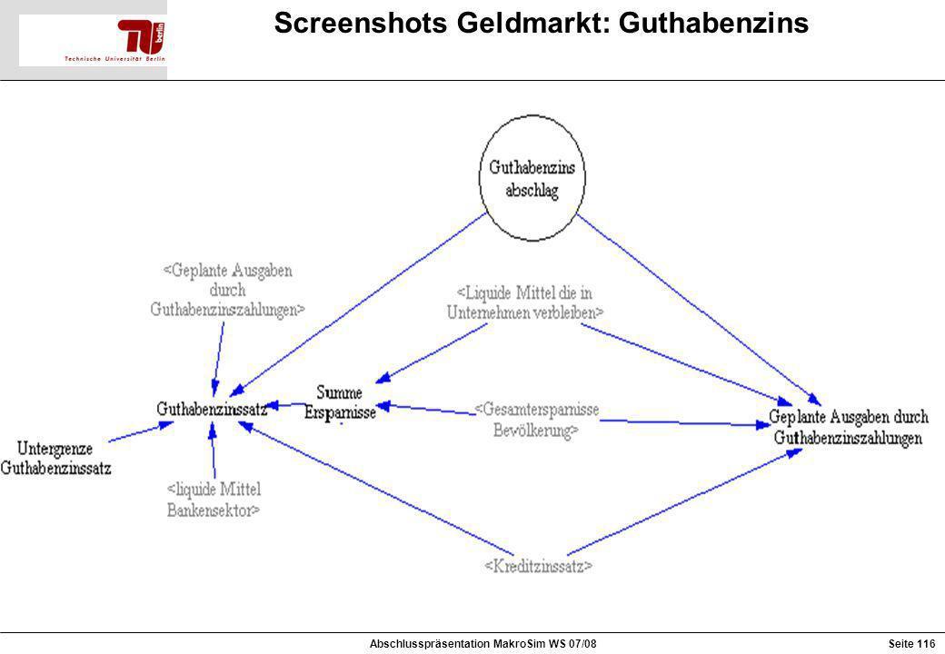 Screenshots Geldmarkt: Guthabenzins