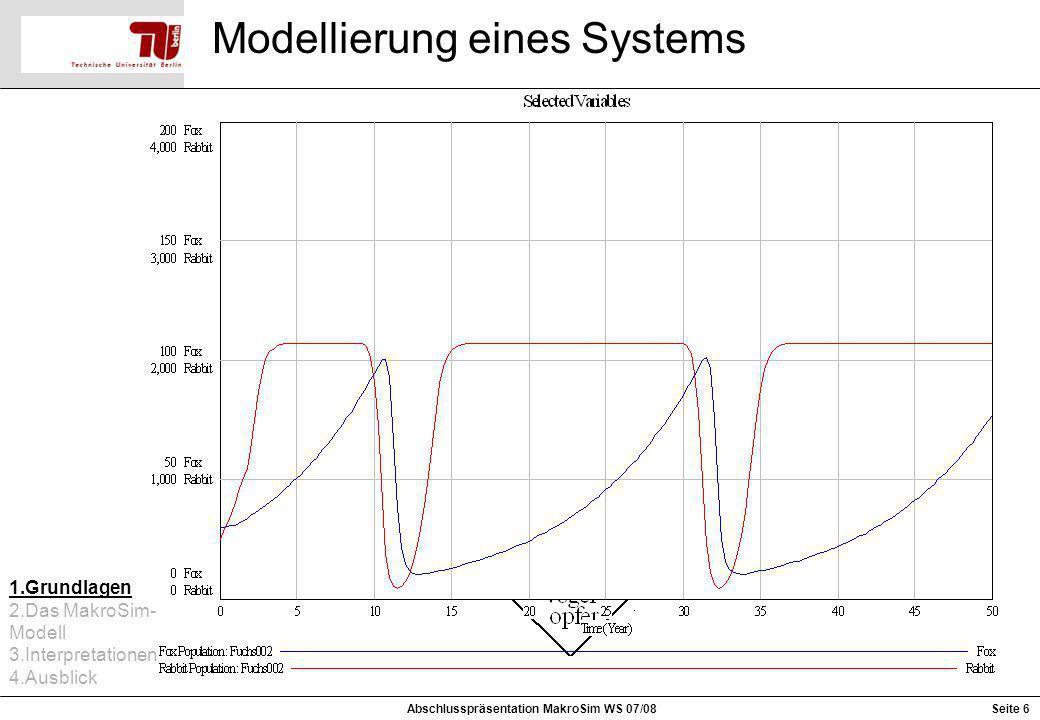 Modellierung eines Systems