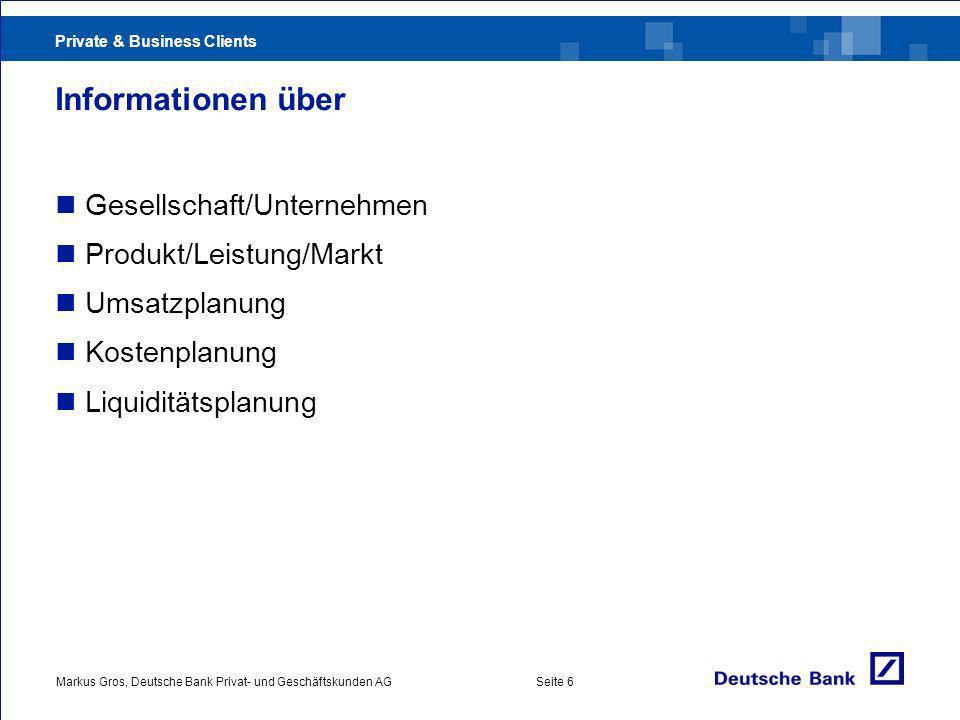 Informationen über Gesellschaft/Unternehmen Produkt/Leistung/Markt