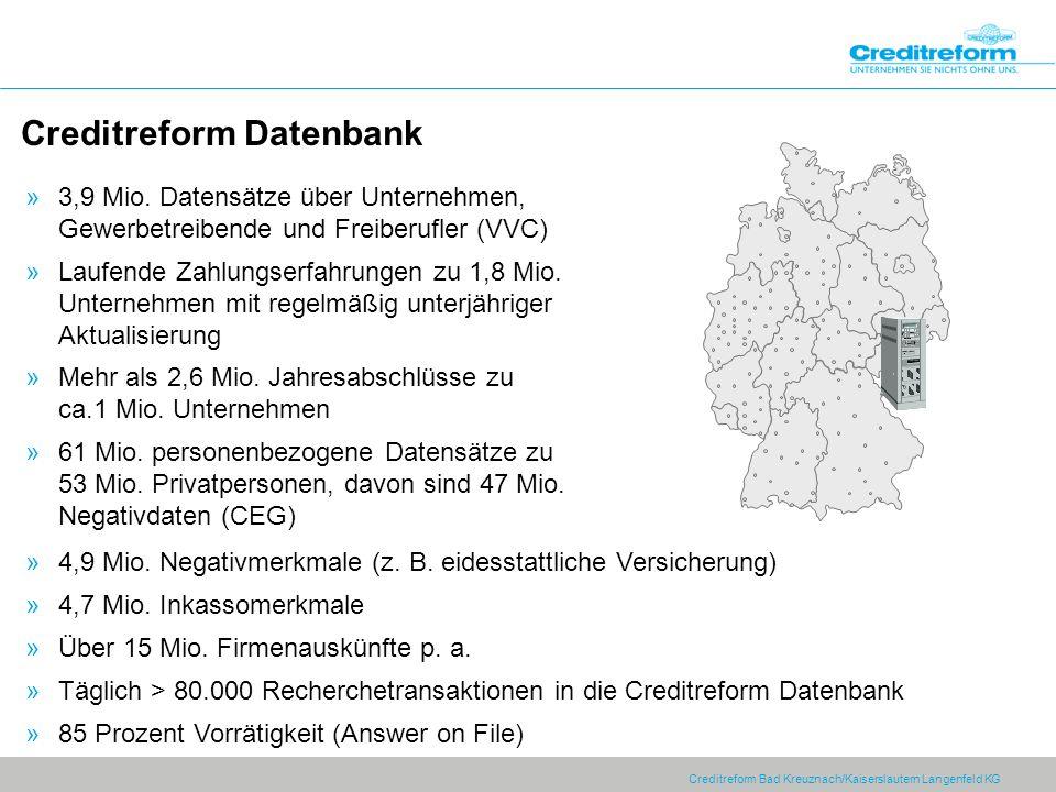 Creditreform Datenbank