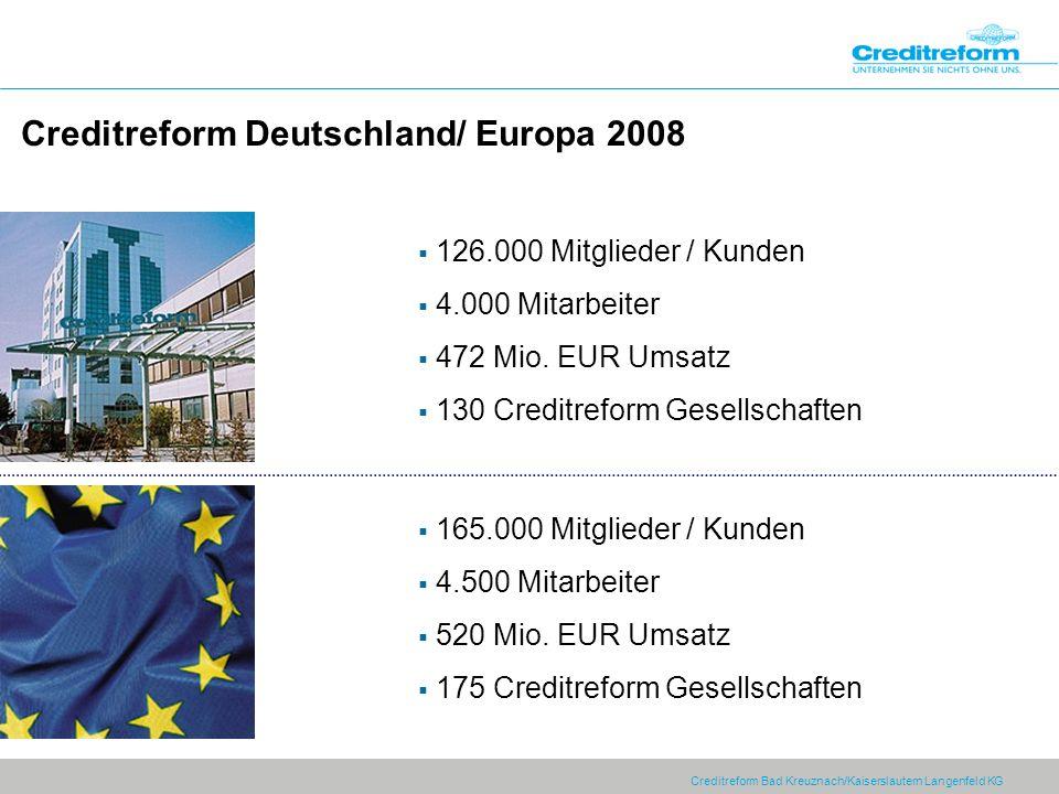 Creditreform Deutschland/ Europa 2008