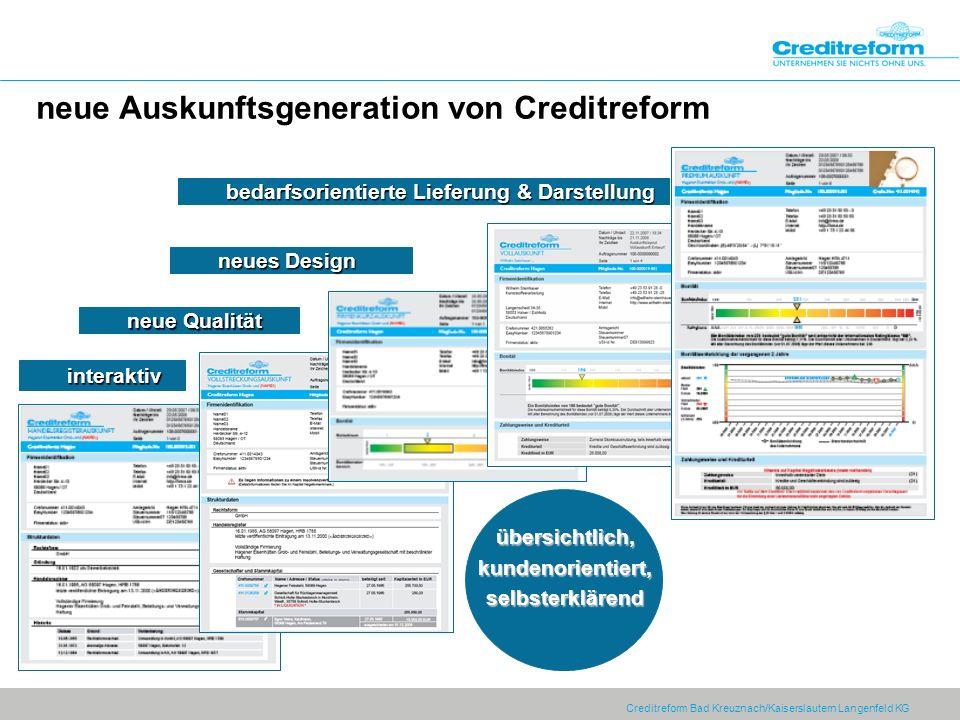 neue Auskunftsgeneration von Creditreform