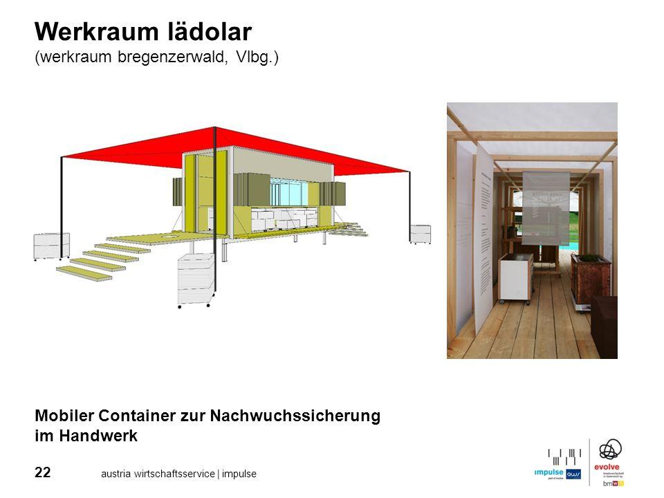Werkraum lädolar (werkraum bregenzerwald, Vlbg.)