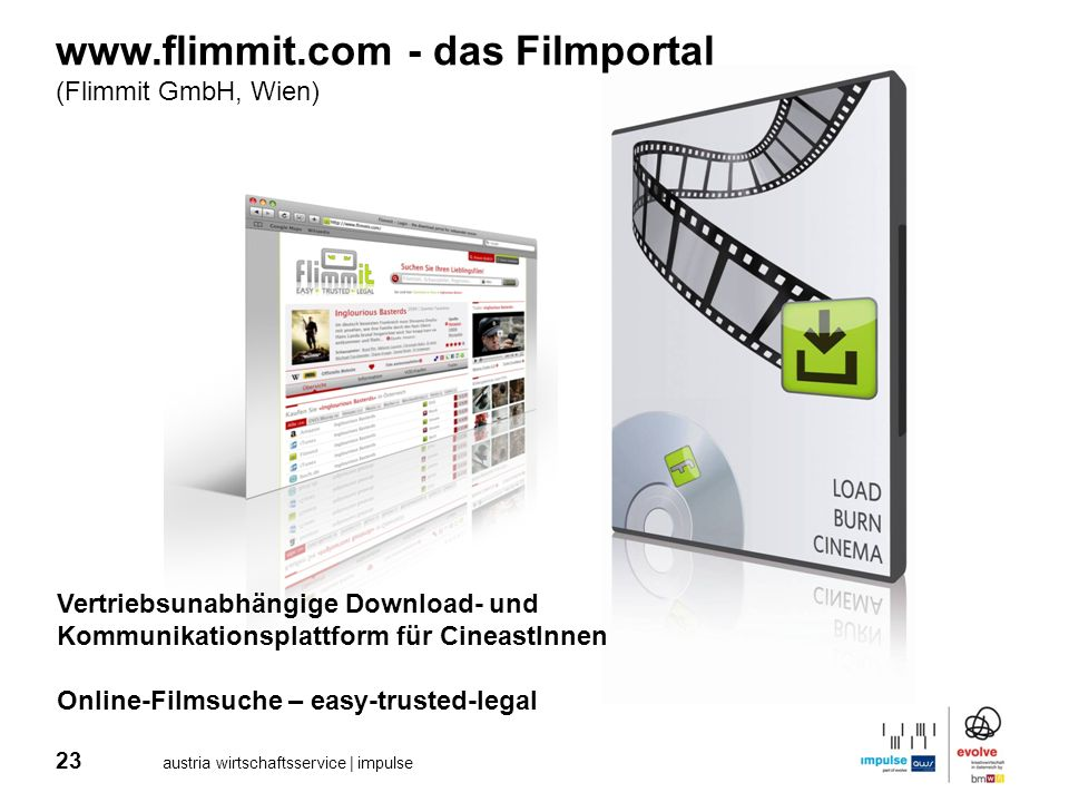www.flimmit.com - das Filmportal