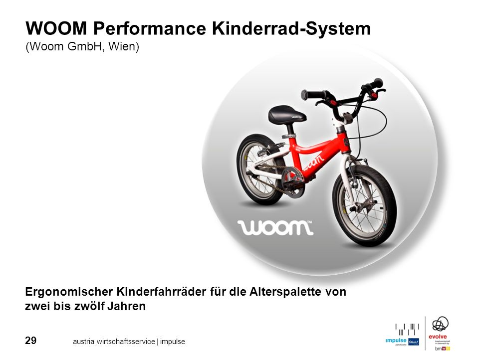 WOOM Performance Kinderrad-System