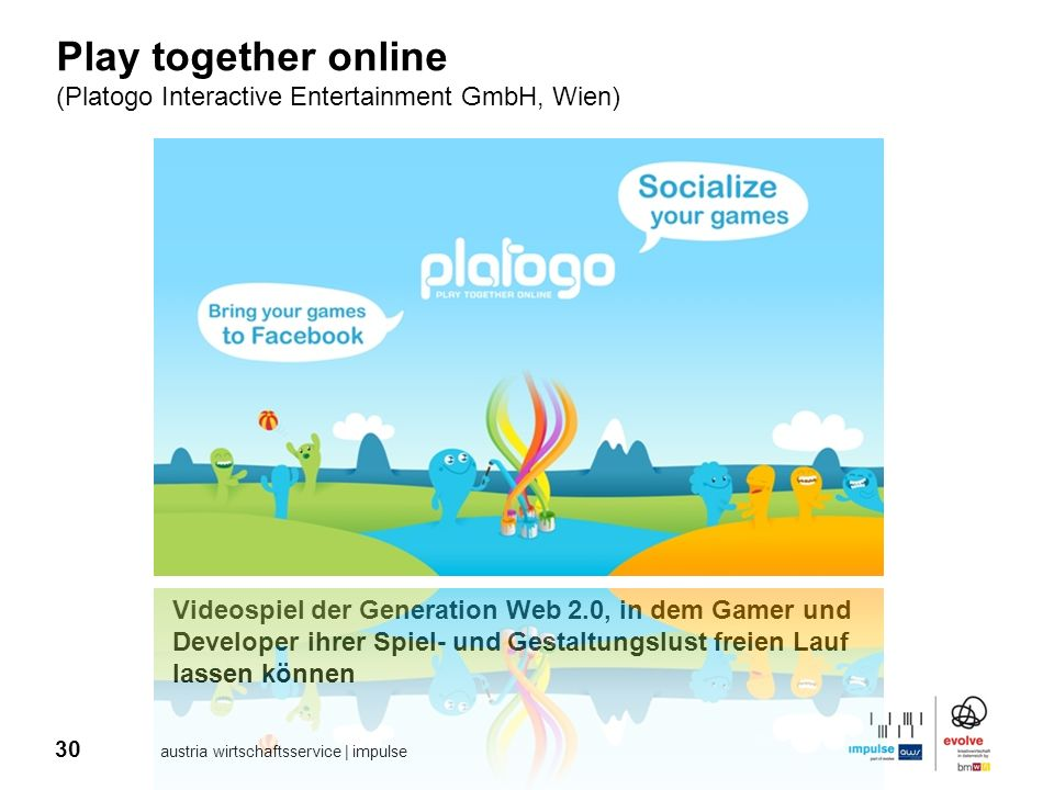 Play together online (Platogo Interactive Entertainment GmbH, Wien)