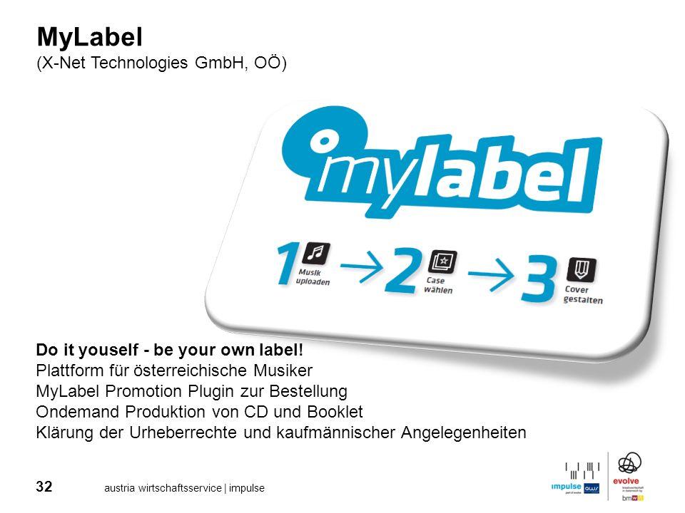 MyLabel (X-Net Technologies GmbH, OÖ)
