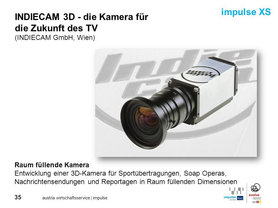 INDIECAM 3D - die Kamera für die Zukunft des TV